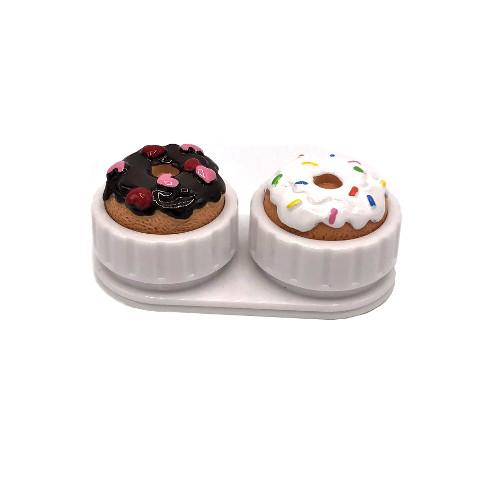 Lens case doughnut