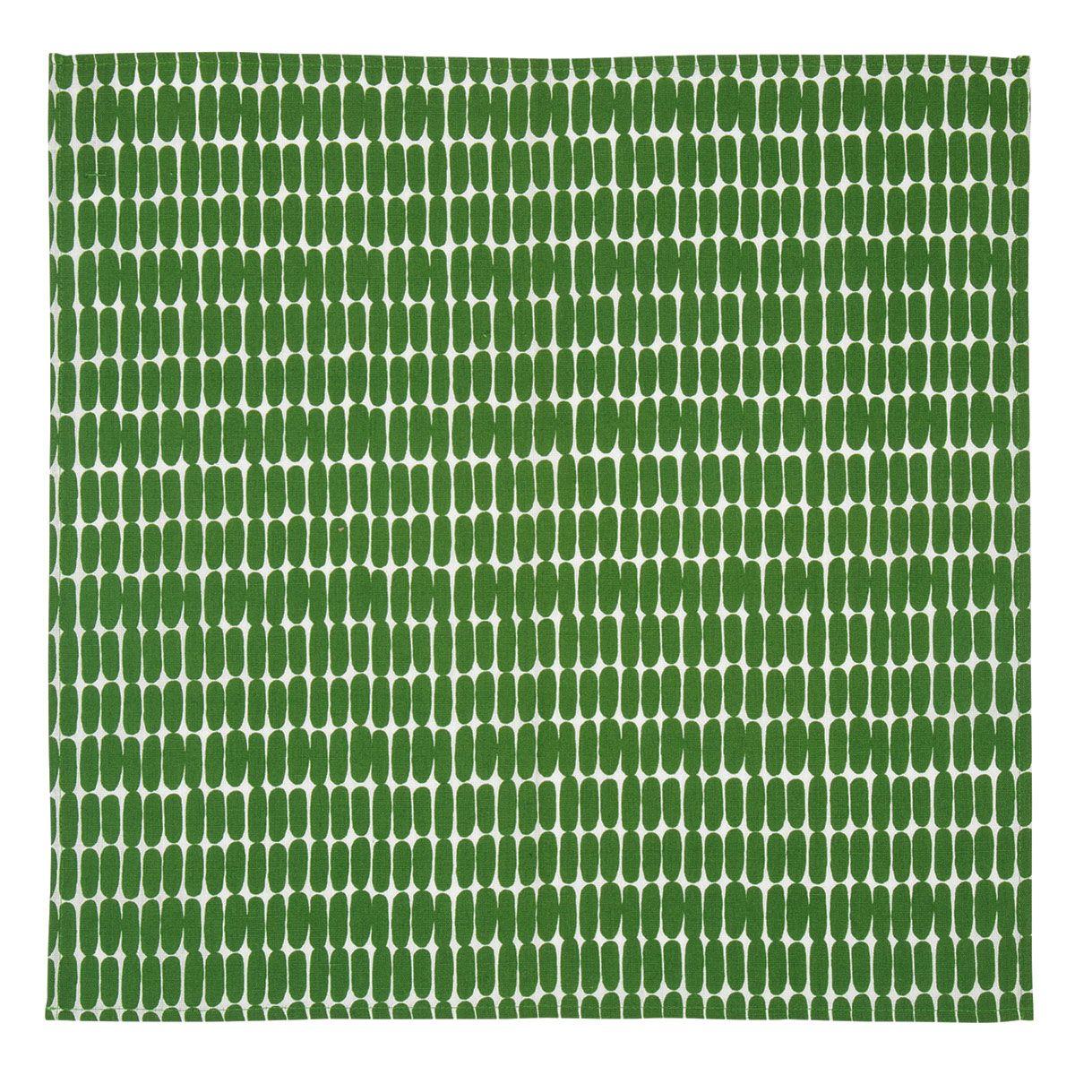 Marimekko Alku napkin 47x47 white green