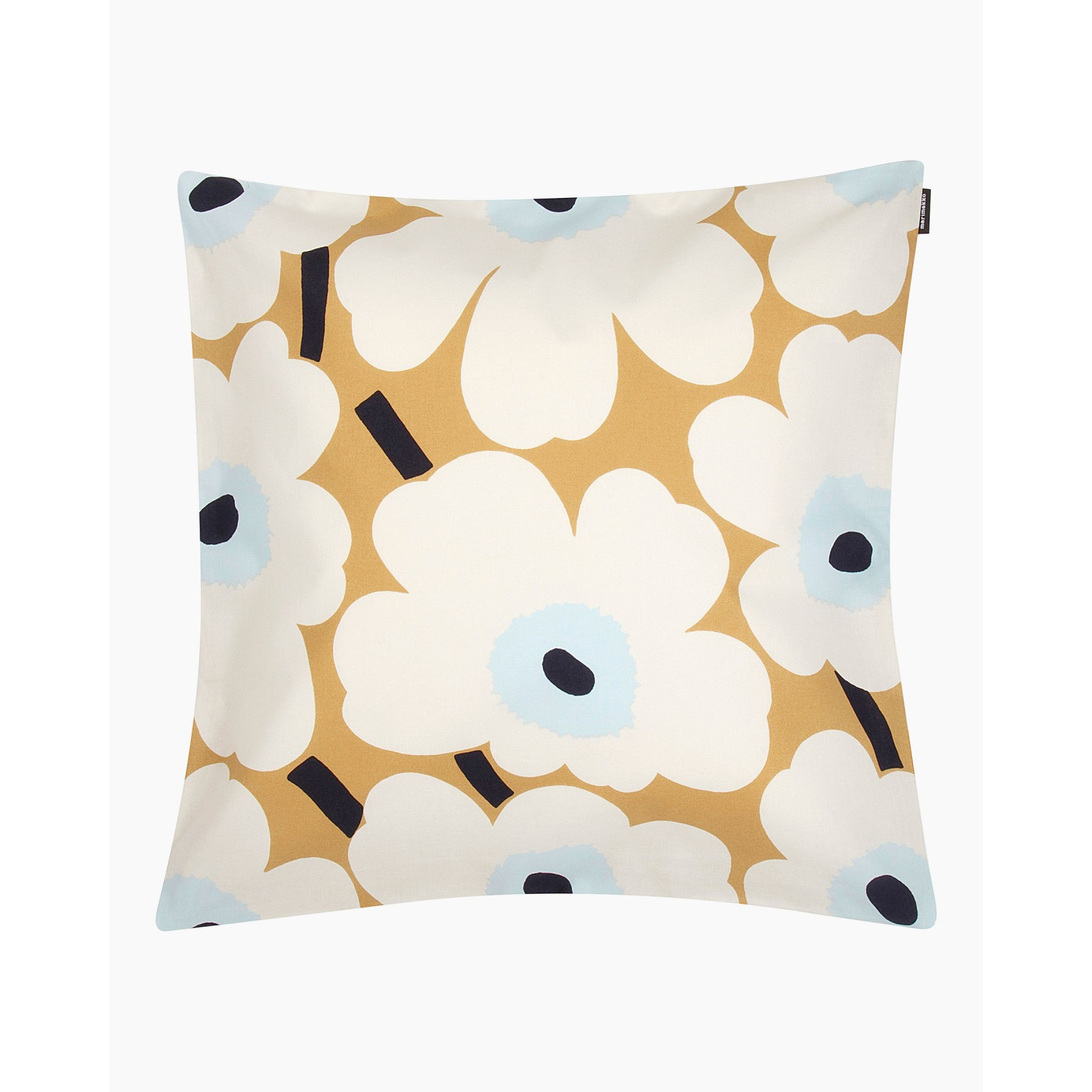 Pieni Unikko cushion cover 50x50 cm beige