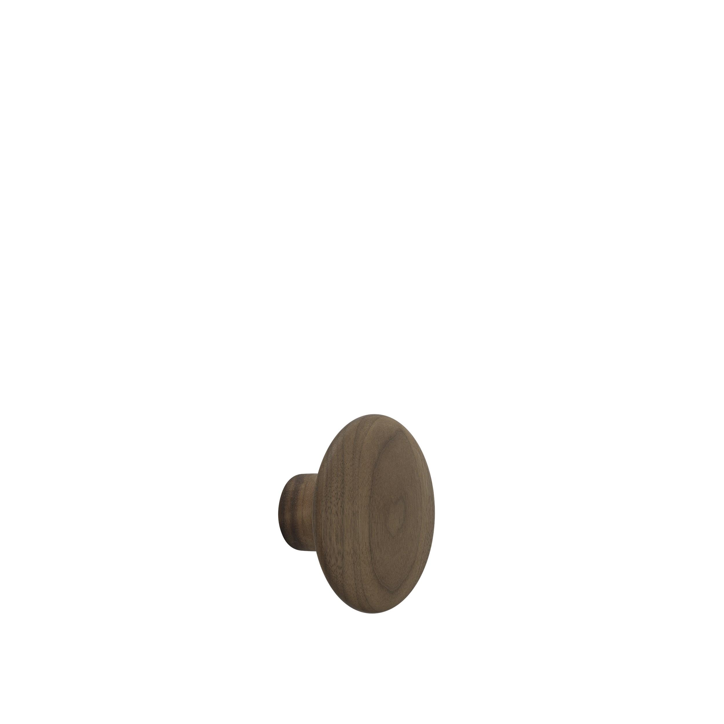 Dot wood small Ø 9 cm walnut