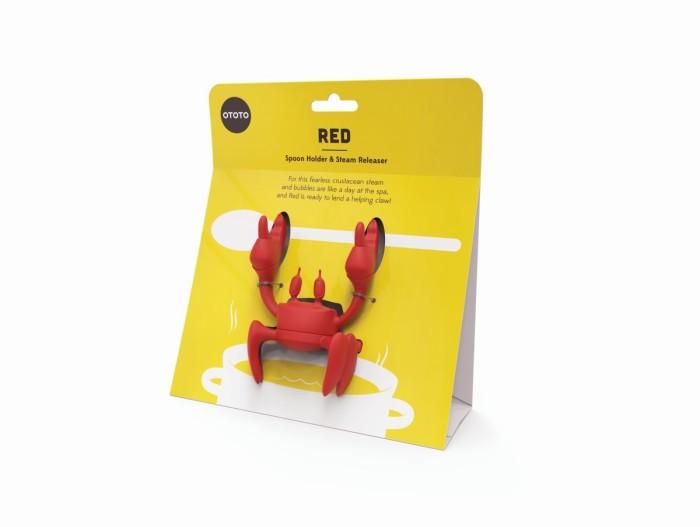 Red spoonholder