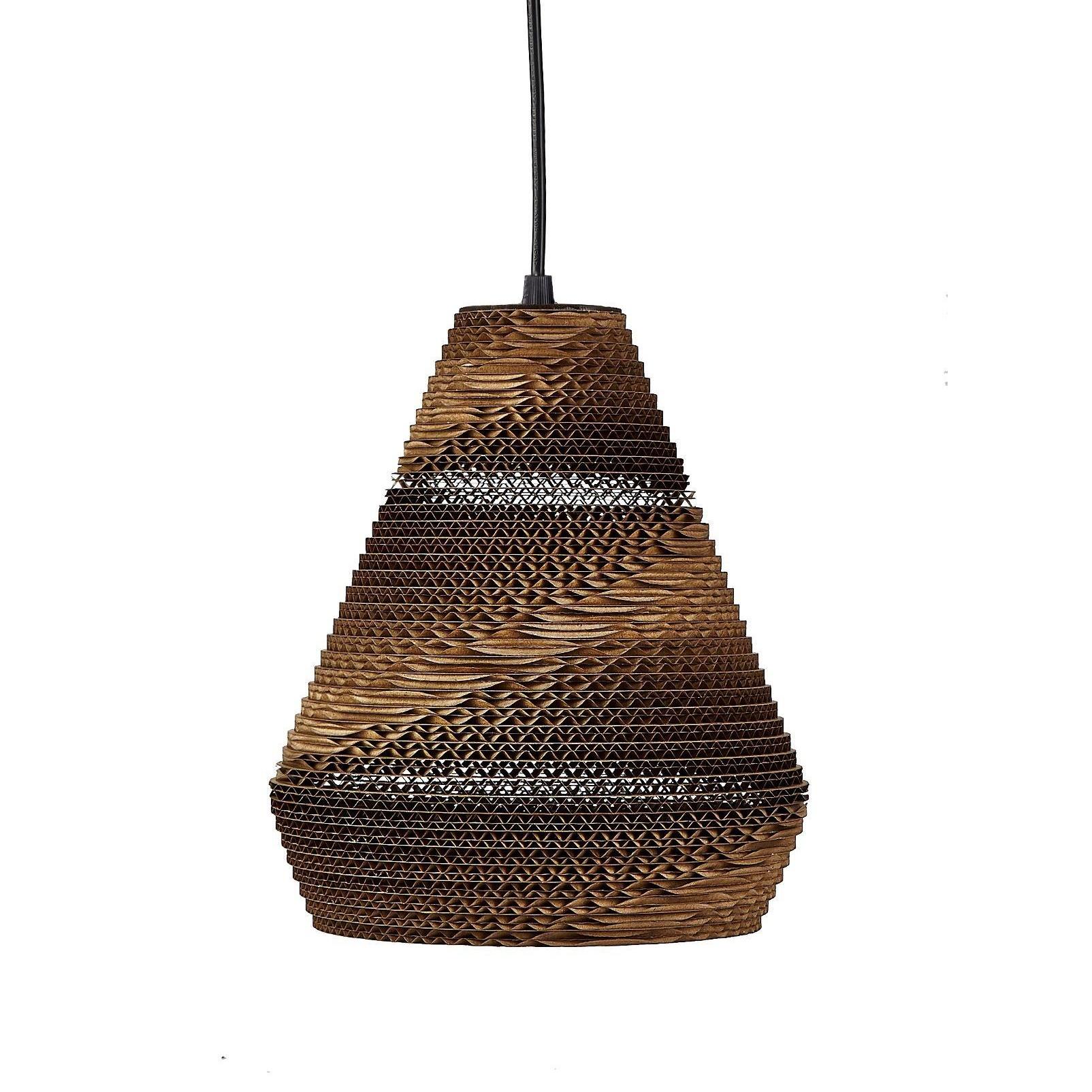 Lamp cardboard 22x25 cm