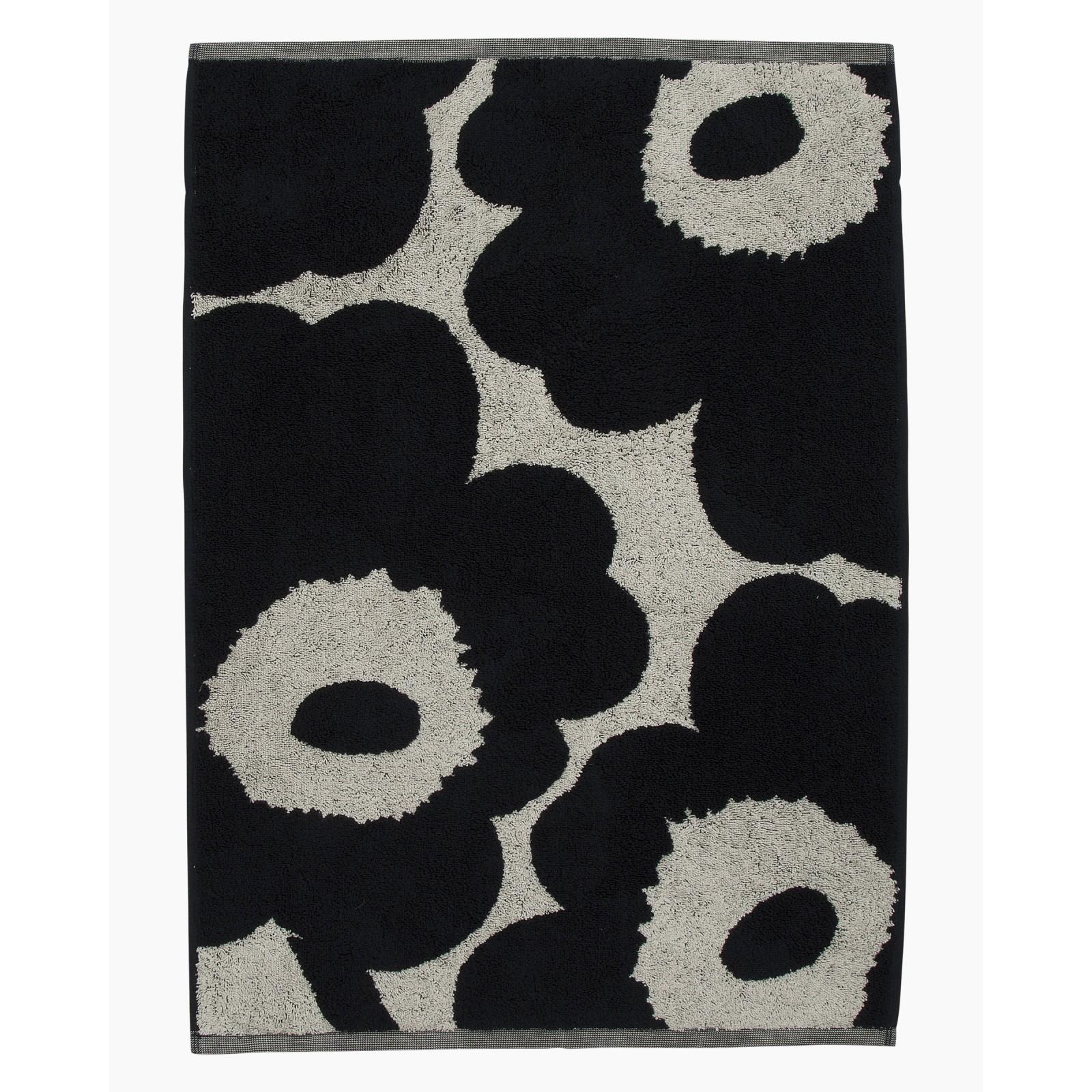 Marimekko Unikko Hand Towel Dark Blue