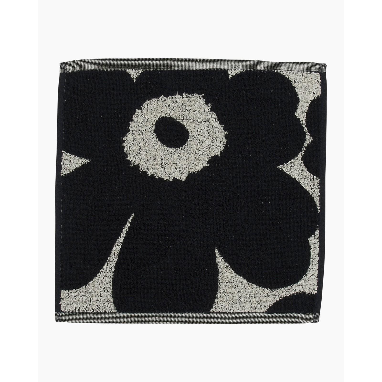 Marimekko Unikko Mini Towel 30x30 Dark Blue