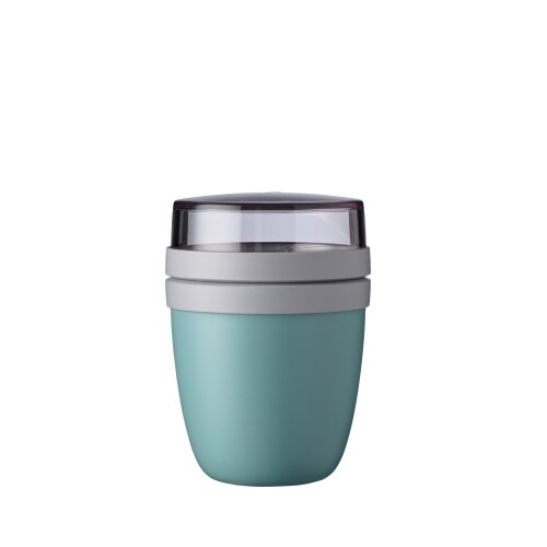 Lunchpot ellipse mini Nordic green
