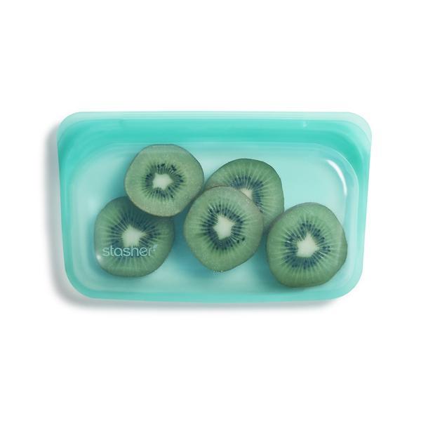 Stasher snack Aqua