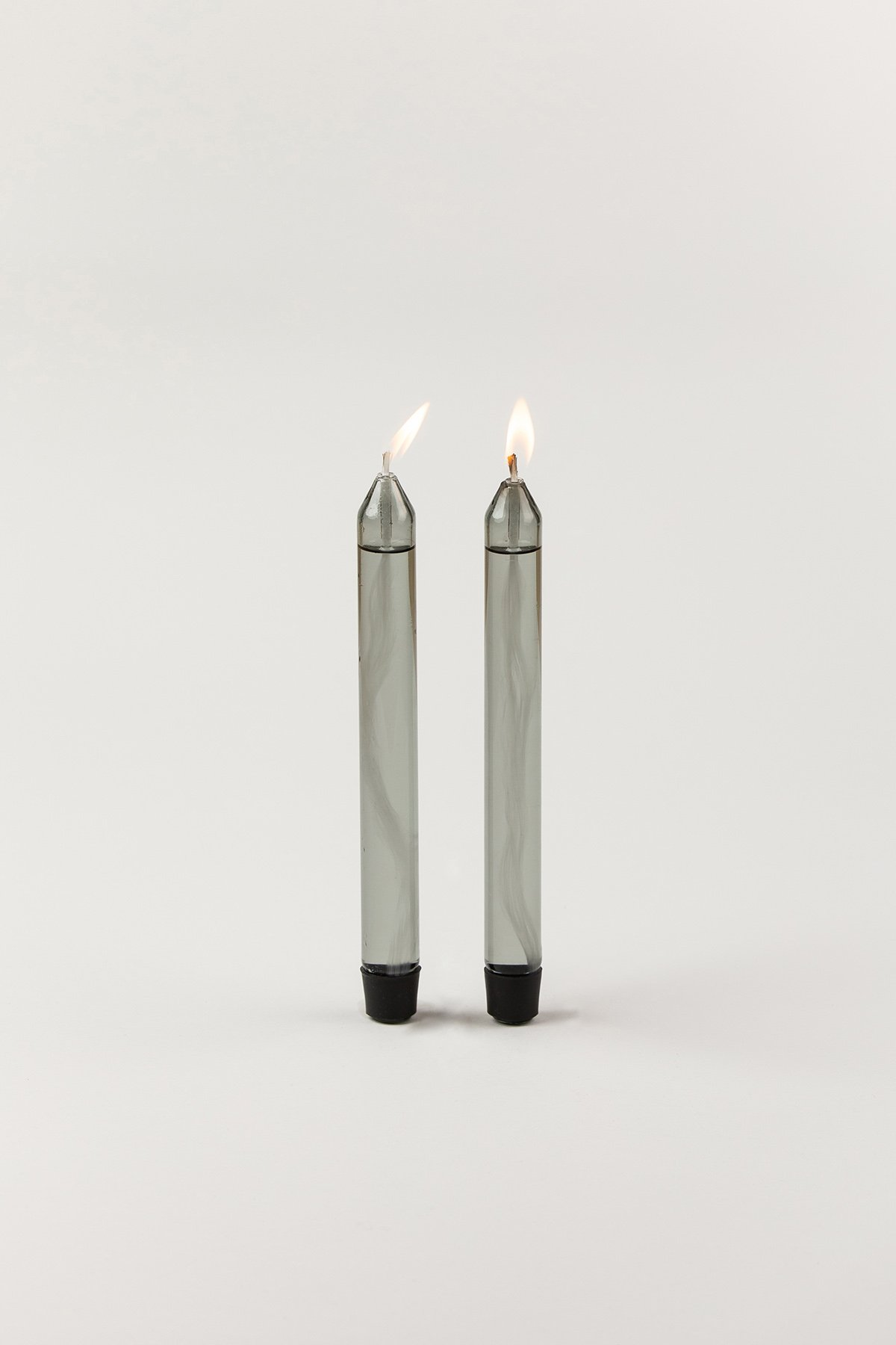 Studio About Glass Candle Oil Smoke 2-pack