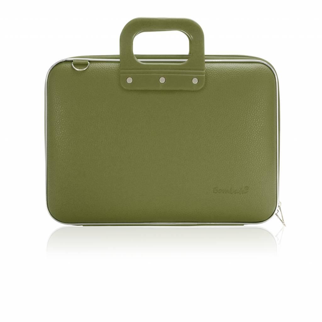 Laptop case 13 inch khaki green