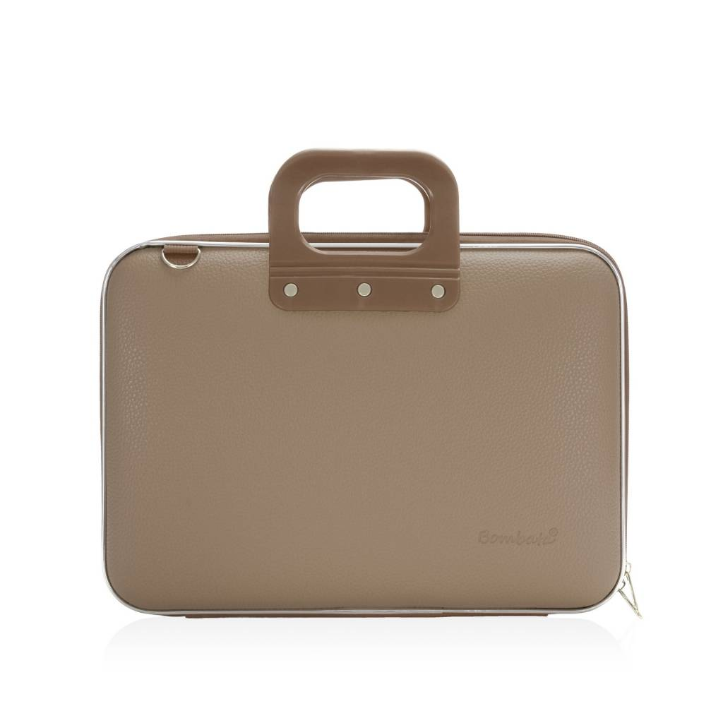 Laptop case 13 inch taupe
