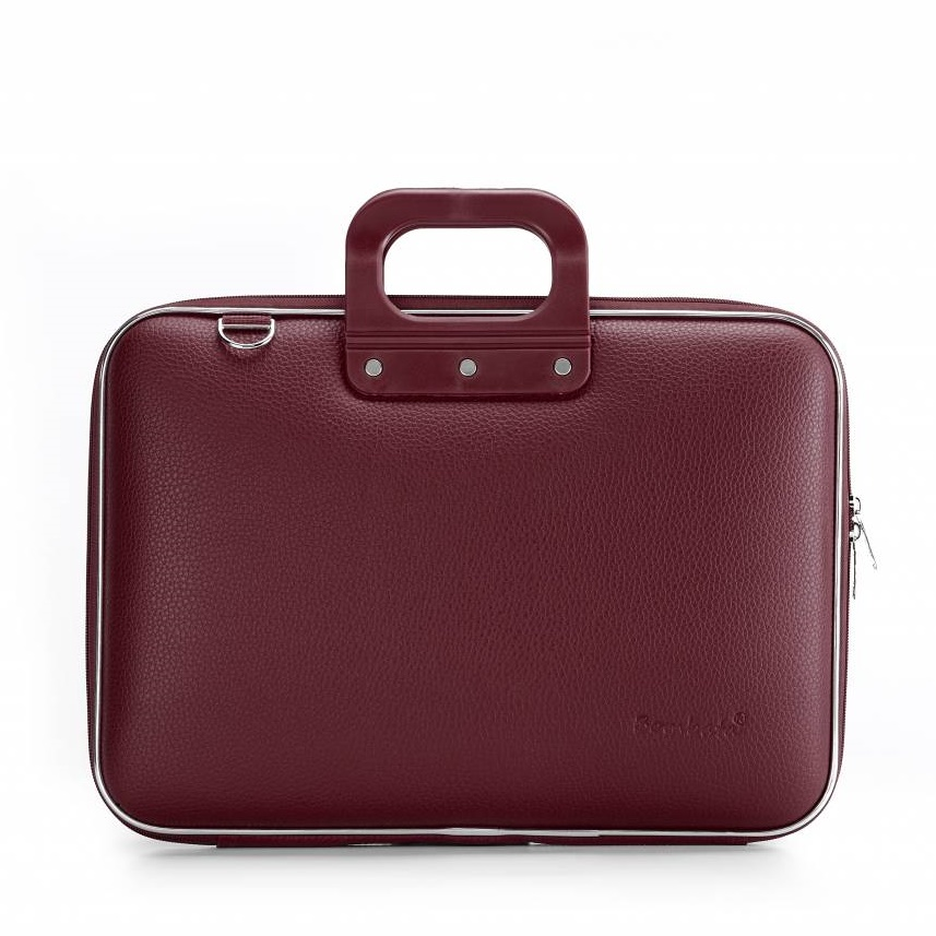 Laptop case 15,4 inch burgundy red