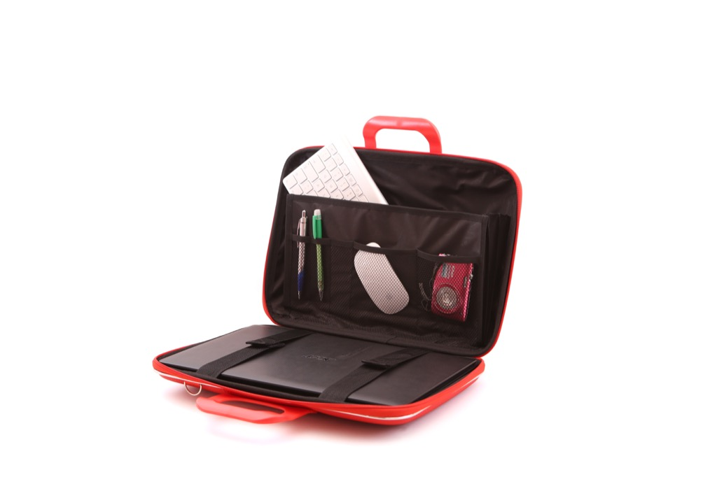 Laptop case 15,4 inch cocco red