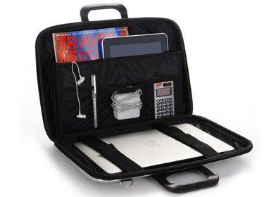 Laptop case 15,4 inch khaki green
