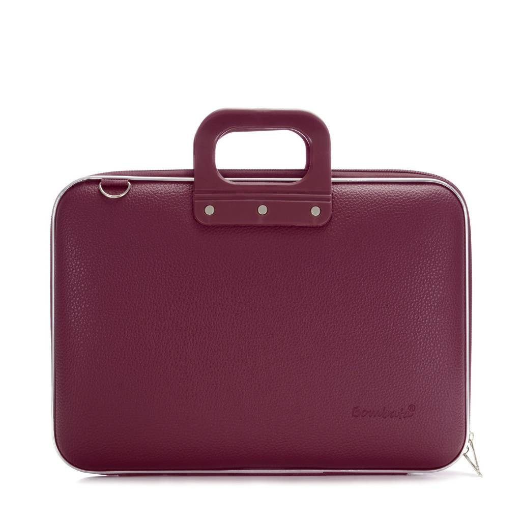 Laptop case 15,4 inch plum purple