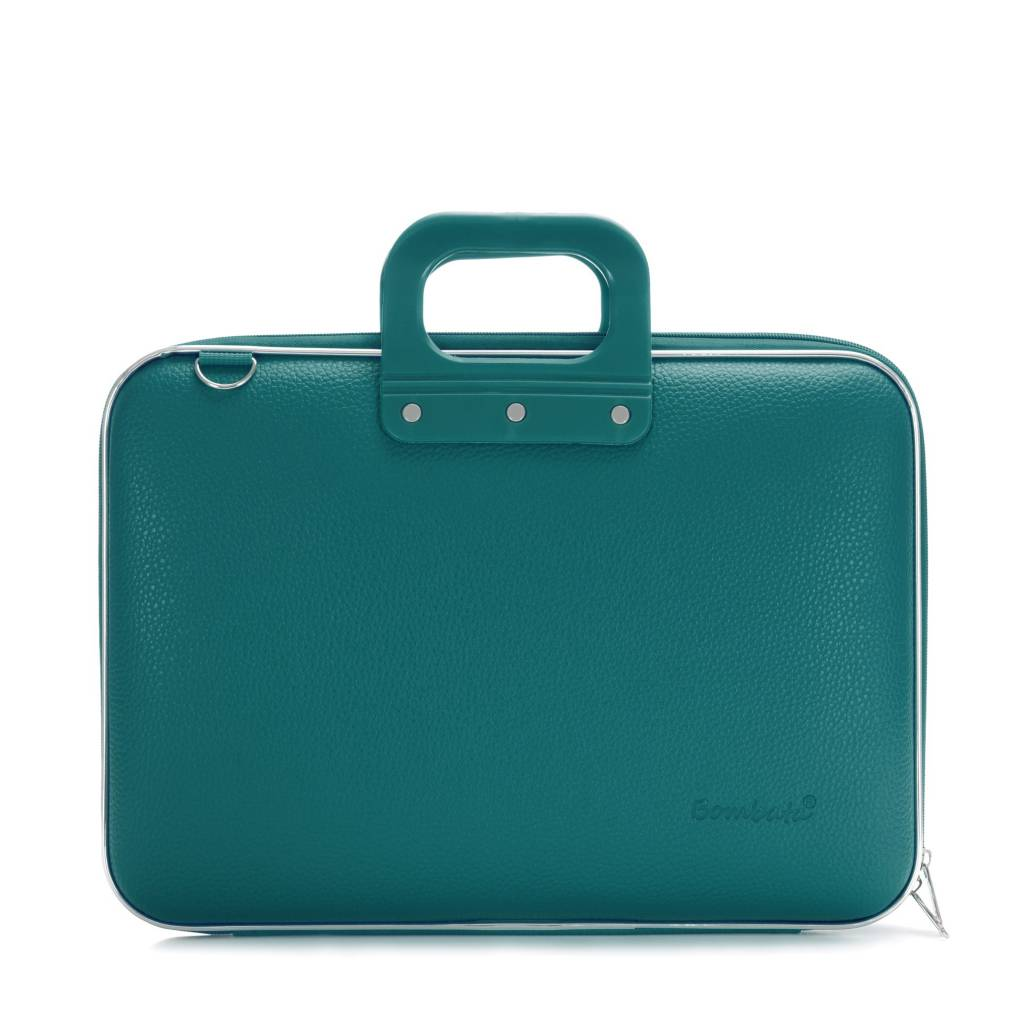 Laptop case 15,4 inch teal blue