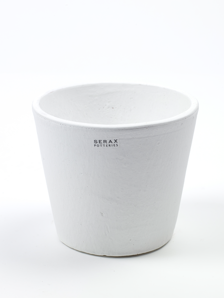 Pot container S white