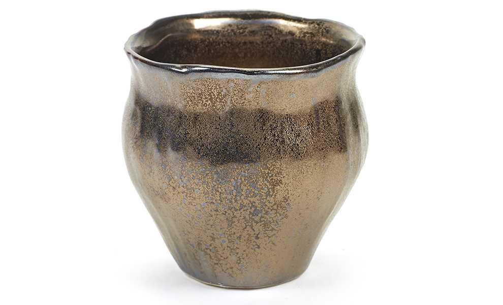 Pot metaal goud xs