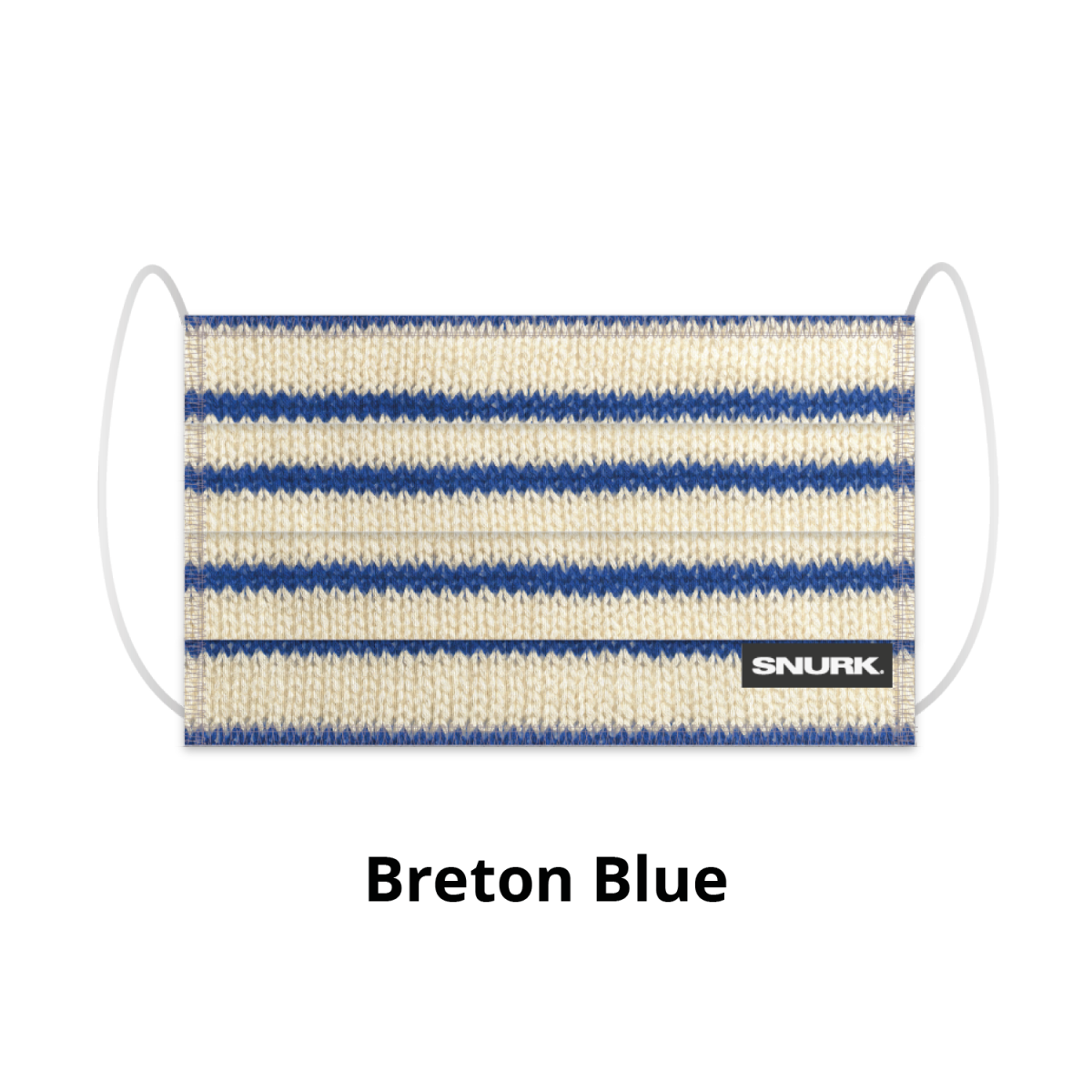 Mondkapje breton blue