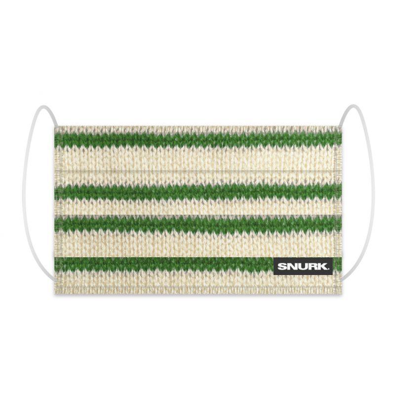 Mondkapje breton green