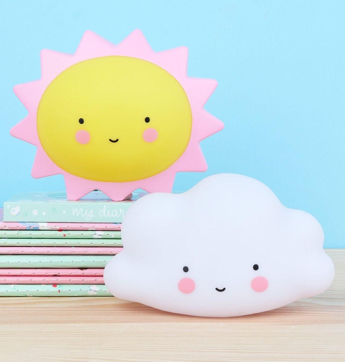 Mini cloud light white