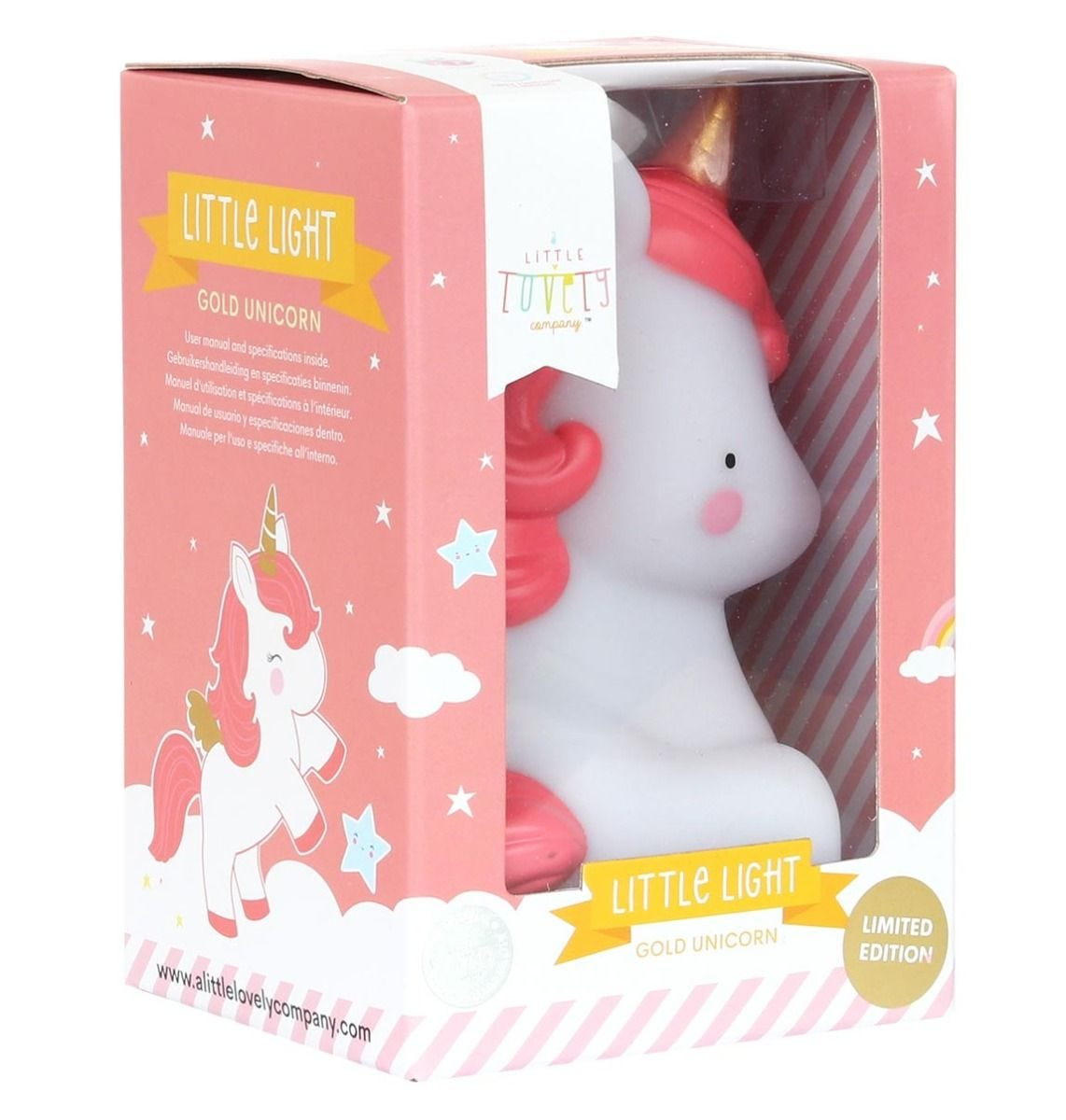 Mini unicorn light gold