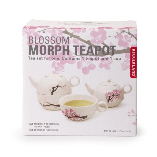 Blossom morph teapot