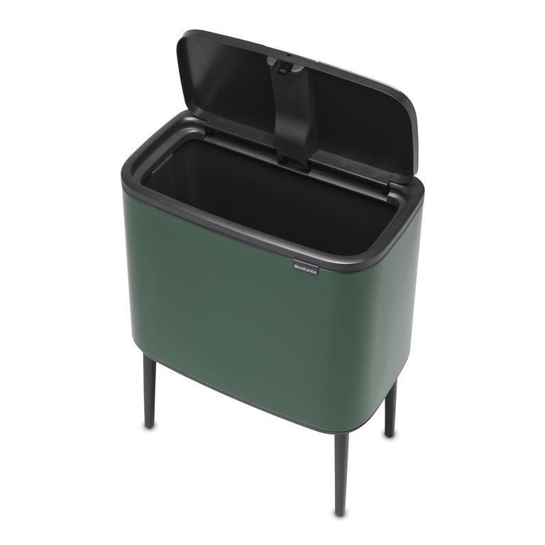 Bo Touch Bin Afvalemmer High 36 Liter Pine Green