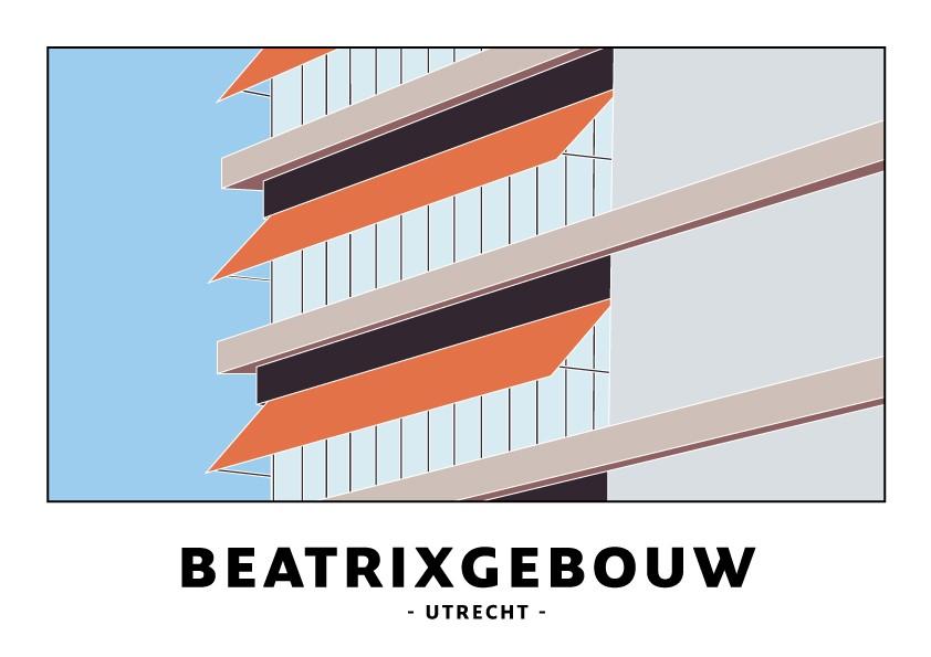 Kaart Beatrix theater