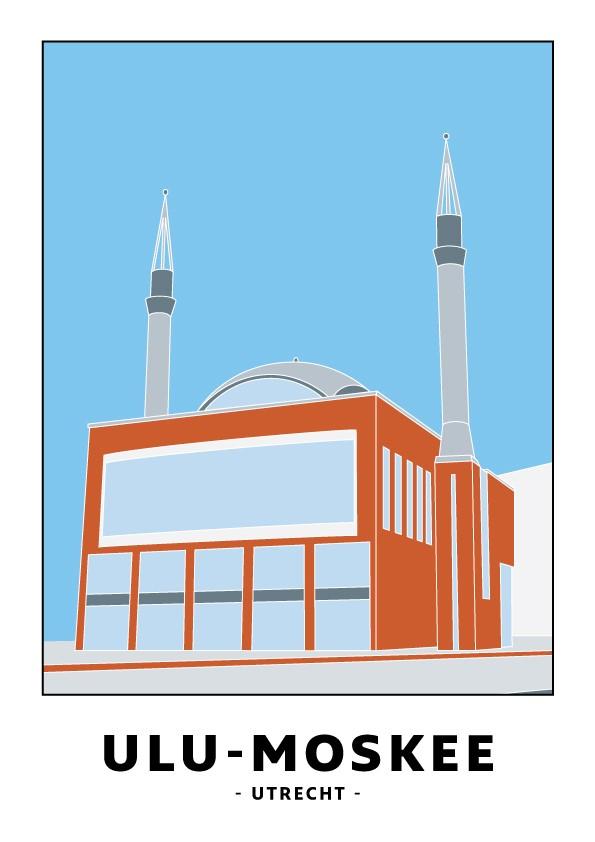 Kaart Ulu- moskee