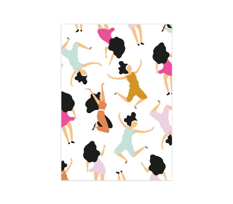 Kaart Dancing Queens