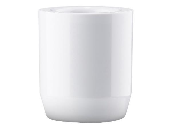 Tootbrush mug Suii 9 cm white