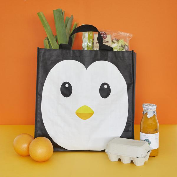 Shopping bag pingu