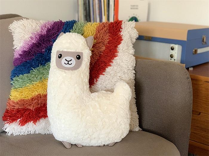 huggable lama cushion
