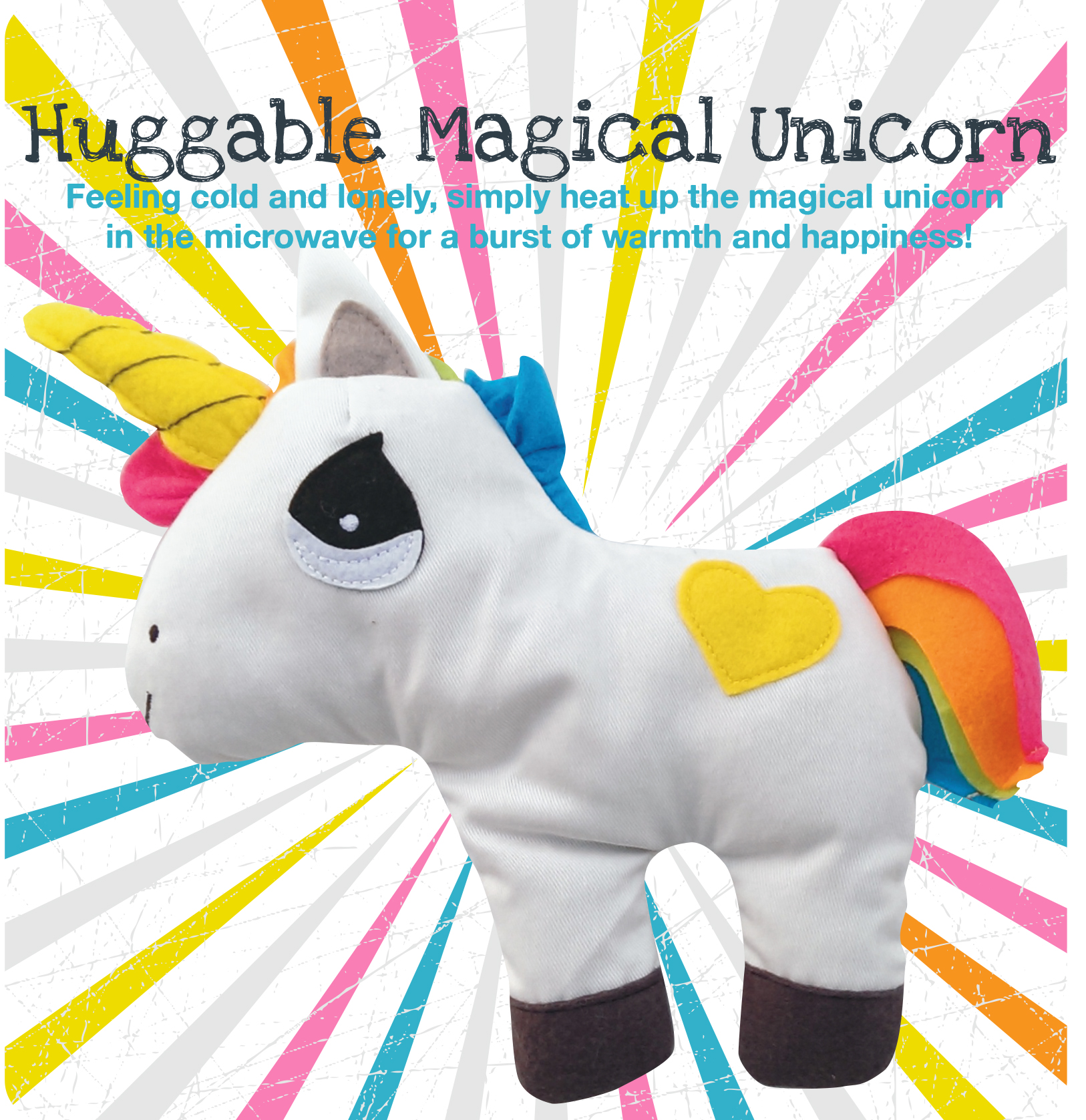 Huggable unicorn