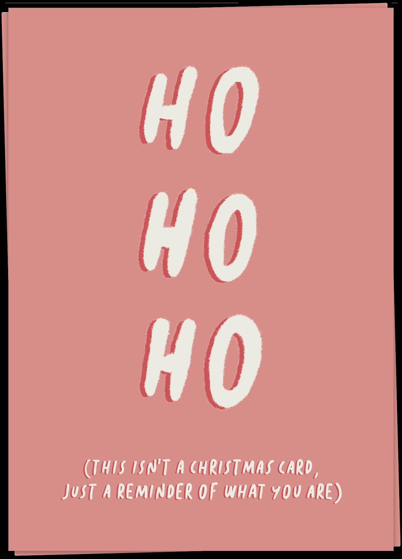 Xmas – Ho ho ho reminder