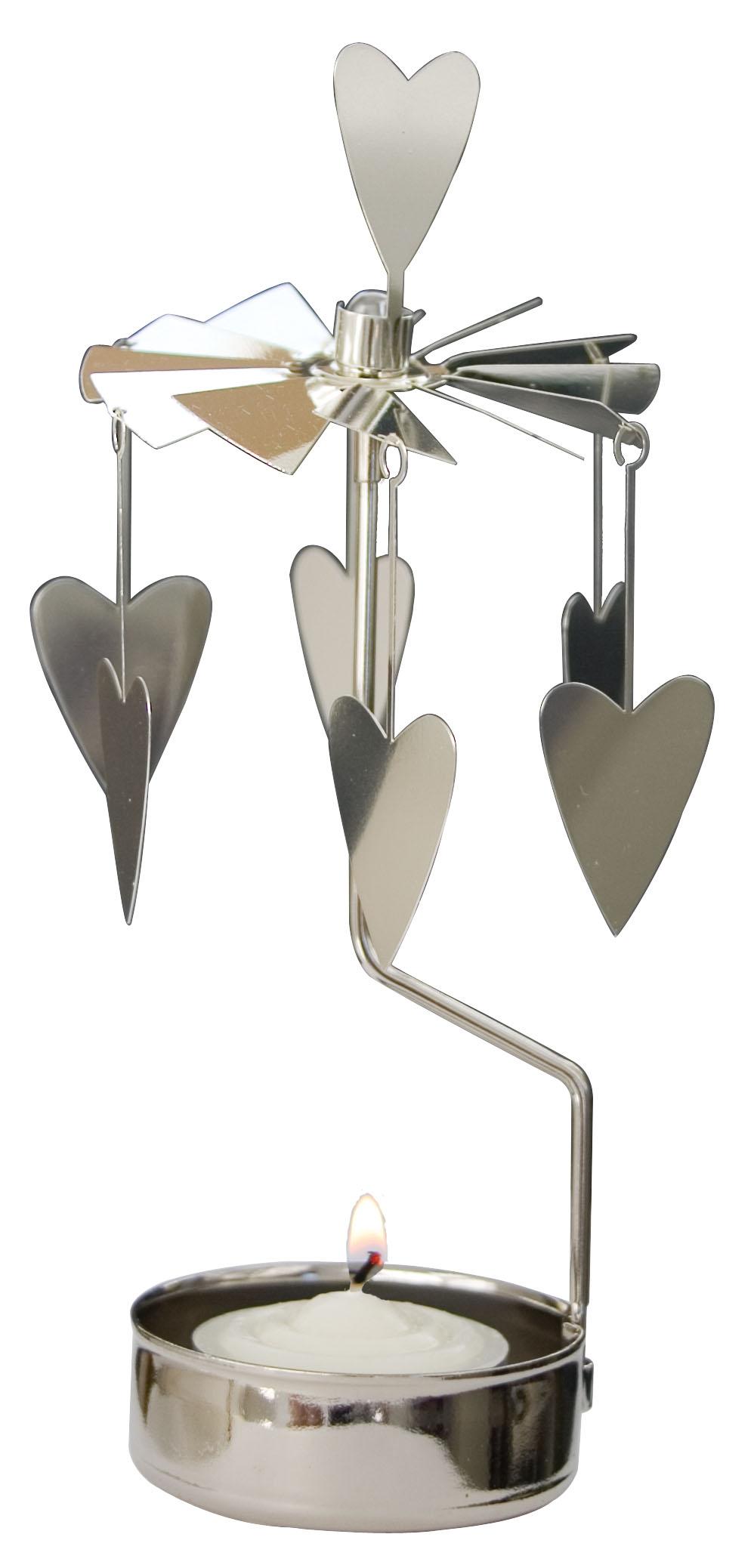 Waxinehouder hearts